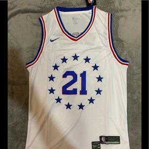 Joel Embiid #21 Philadelphia 76ers Jersey